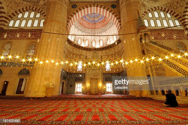 selimiye mosque / edirne - selimiye mosque stock pictures, royalty-free photos & images