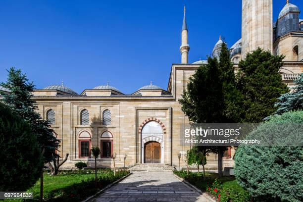 selimiye mosque, edirne - selimiye mosque stock pictures, royalty-free photos & images