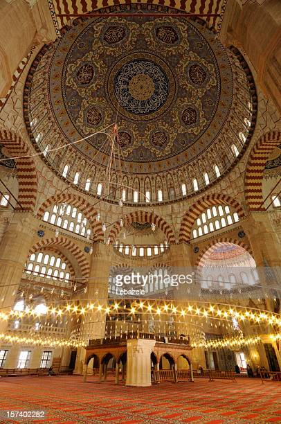 selimiye mosque / edirne / turkey - selimiye mosque stock pictures, royalty-free photos & images