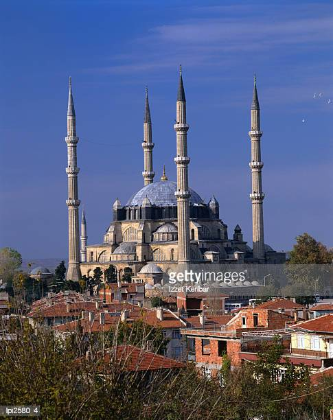 selimiye mosque, edirne, turkey - selimiye mosque stock pictures, royalty-free photos & images