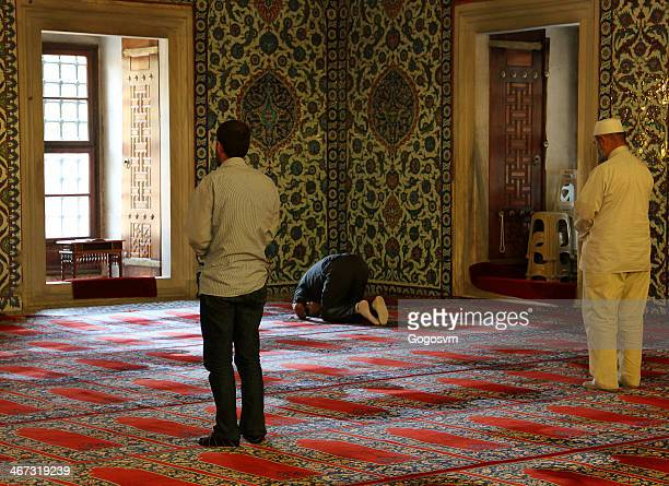 selimiye mosque - namaz stock pictures, royalty-free photos & images
