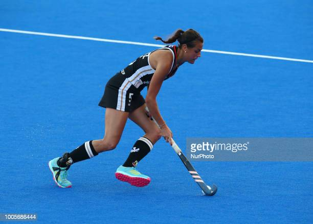 Selin of Germany during FIH Hockey Women's World Cup 2018 Day Four match Pool C game 11 between Germany and Argentina at Lee Valley Hockey amp Tennis...