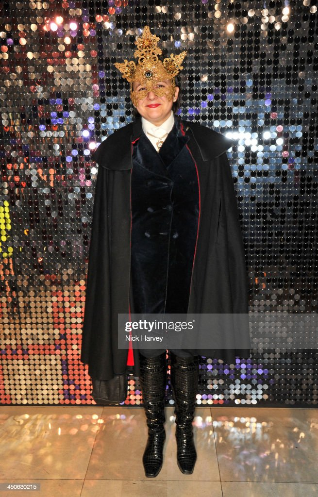 Selina Blow attends the private view of Isabella Blow: Fashion Galore! Party at Somerset House on November 19, 2013 in London, England.