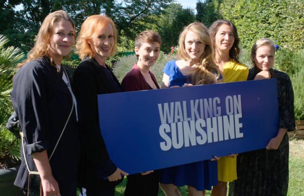 """AUT: """"Walking on Sunshine"""" Set Visit In Vienna"""