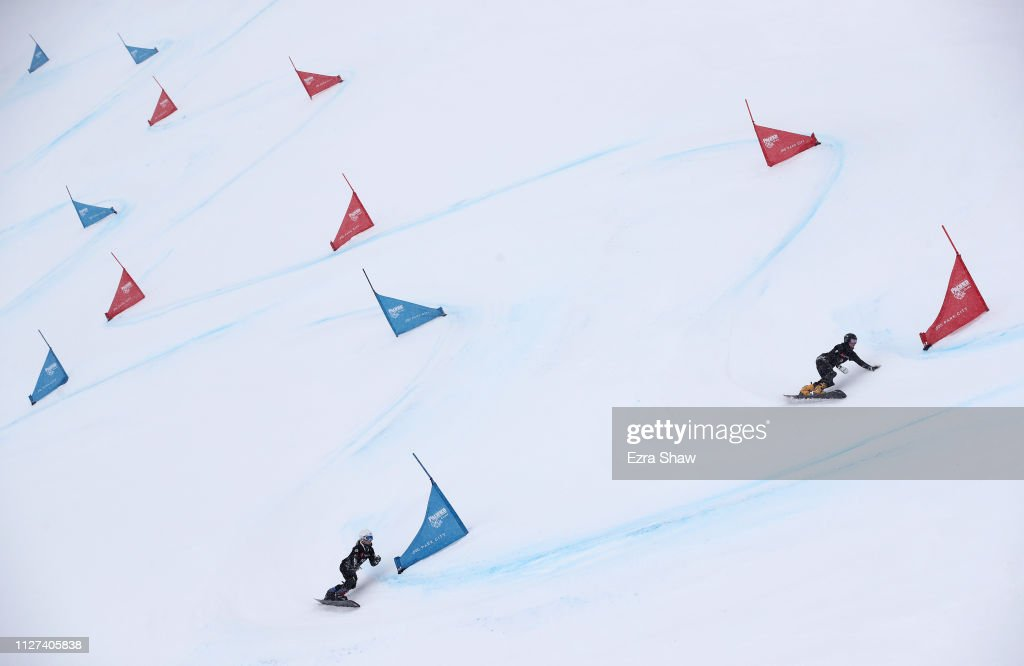 UT: FIS Snowboard World Championships - Men's and Ladies' Parallel Giant Slalom