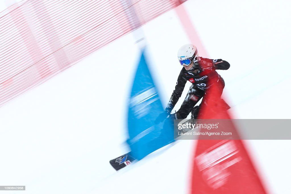 UT: FIS Snowboard World Championships - Men's and Ladies' Parallel Slalom