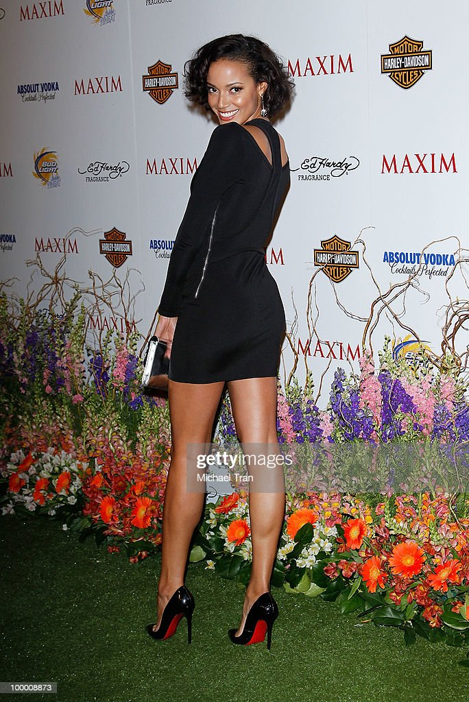 Selita Ebanks arrives for the 11th Annual MAXIM HOT 100 Party held at Paramount Studios on May 19, 2010 in Los Angeles, California.