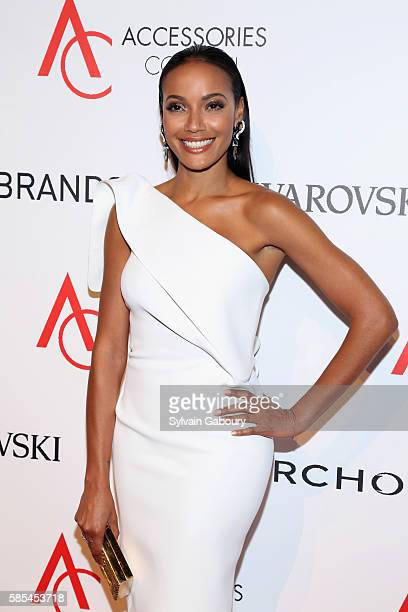 Selita Ebanks attends 20th Anniversary of the ACE Awards at Cipriani 42nd Street on August 2 2016 in New York City