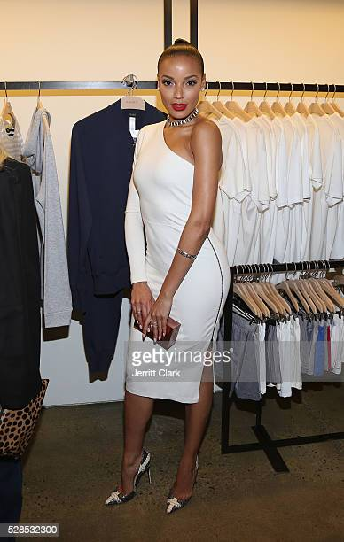 Selita Ebanks attends Hanro Of Switzerland x Izak Zenou VIP Party at HANRO of Switzerland on May 5 2016 in New York City