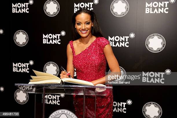 Selita Ebanks attends Montblanc honors Jane Rosenthal at 2014 Montblanc de la Culture Arts Patronage Award Ceremony on June 3 2014 in New York City