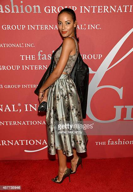 Selita Ebanks attends the 31st Annual FGI Night of Stars event at Cipriani Wall Street on October 23 2014 in New York City