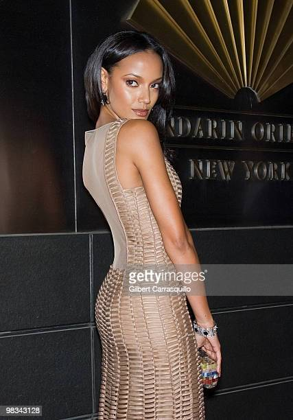 Selita Ebanks attends the 7th Annual New Yorkers for Children Spring Dinner Dance at the Mandarin Oriental Hotel on April 8 2010 in New York City
