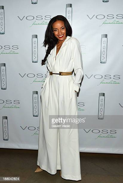 Selita Ebanks attends the fourth annual Voss Foundation Women Helping Women New York luncheon at Dream Downtown on November 14 2013 in New York City