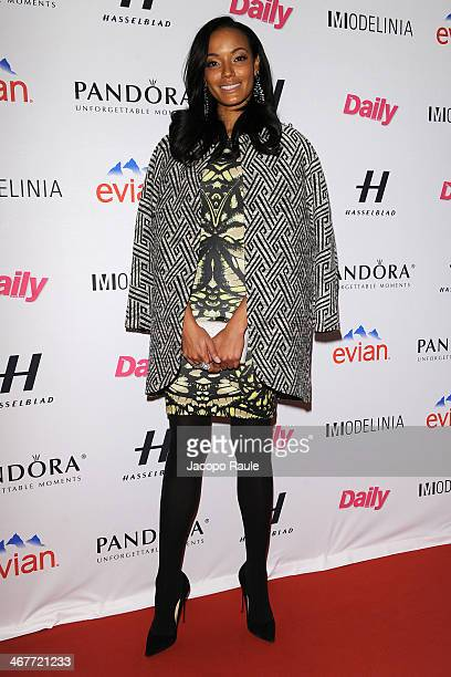 Selita Ebanks attends the Models Issue Party presented by The Daily Front Row and Modelinia at Harlow on February 7 2014 in New York City