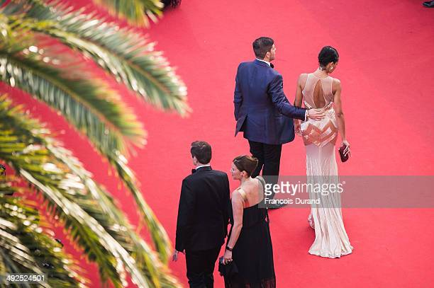 Selita Ebanks attends the Premiere of Two Days One Night at the 67th Annual Cannes Film Festival on May 20 2014 in Cannes France