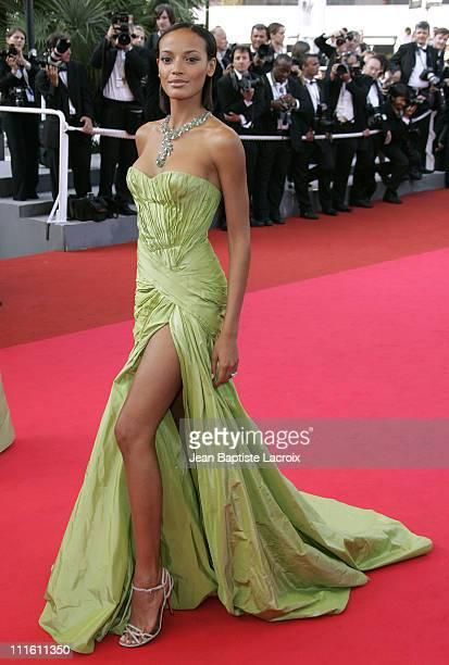 Selita Ebanks during 2007 Cannes Film Festival Promise Me This Premiere at Palais des Festivals in Cannes France