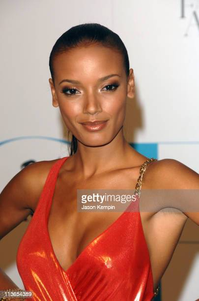 Selita Ebanks during 2007 CFDA Fashion Awards Red Carpet at New York Public Library in New York City New York United States