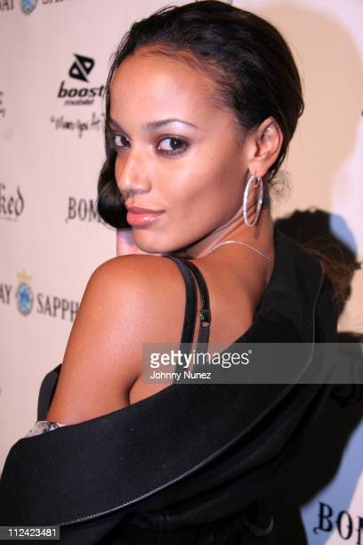 Selita Ebanks during Inked Magazine Party October 26 2005 at DriveIn Studios in New York City New York United States