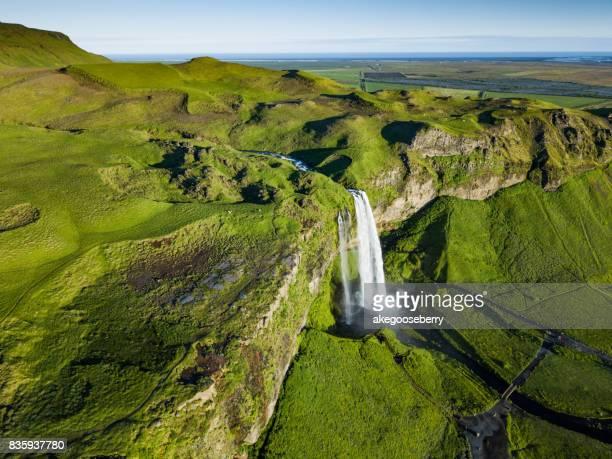Seljalandsfoss, The Beautiful Waterfalls of South-Iceland.