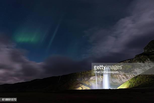 Seljalandsfoss waterfall , Iceland