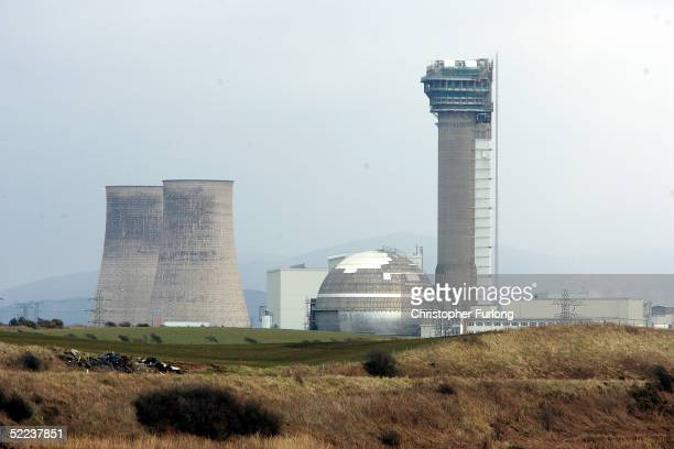 Sellafield nuclear plant is seen on February 24 in Sellafield England The 38 square km site on the Cumbrian coast produces nuclear fuel for...
