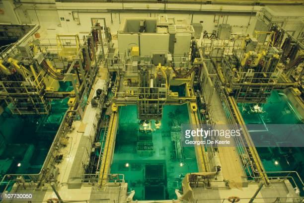 Sellafield nuclear processing site in Cumbria December 1986