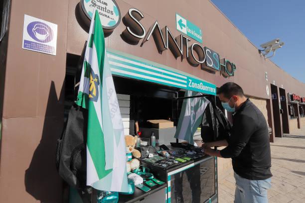 MEX: Santos Laguna v Necaxa - Torneo Guard1anes 2021 Liga MX