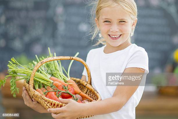Selling a Basket of Produce