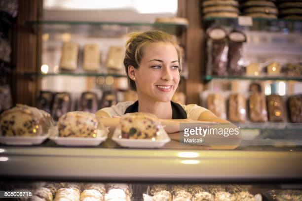 Selling pastries
