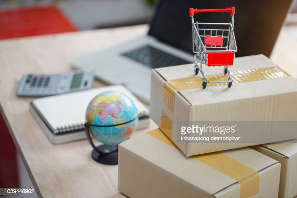selling products online.concept