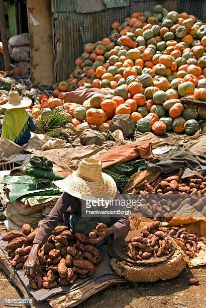 Selling sweet potato