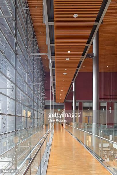 Sello Leppävaara Library, Leppävaarankatu, Espoo, Greater Helsinki, Finland, Architect: Helin & Co Arkkitehdit Sello Leppävaara Library, Helin & Co...