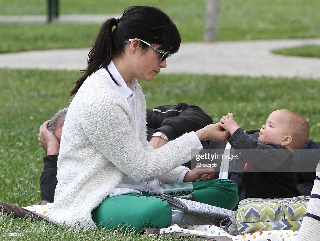 Celebrity Sightings In Los Angeles - April 15 2012