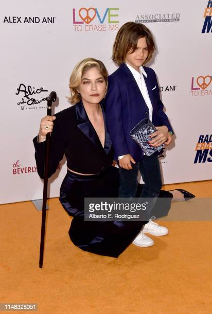 Selma Blair and Arthur Saint Bleick attend the 26th Annual Race to Erase MS Gala at The Beverly Hilton Hotel on May 10, 2019 in Beverly Hills,...