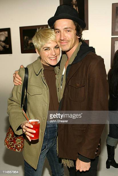 Selma Blair and Brandon Boyd during Brian Bowen Smith Brent Bolthouse and Brandon Boyd Art and Photography Show at Quixote Studios at Quixote Studios...