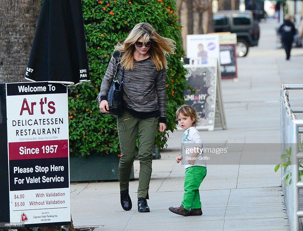 Celebrity Sightings In Los Angeles - February 03, 2014