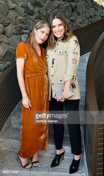 Selma Blair and Sophia Bush attend Ray Booth Evocative Interiors Book Signing on May 8 2018 in Los Angeles California