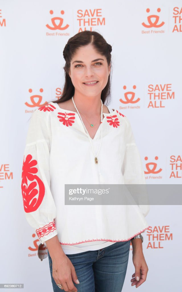 Selma Blair arrives at the Best Friends Animal Society's NKLA Super Adoption at Warner Park on June 4, 2017 in Woodland Hills, California.