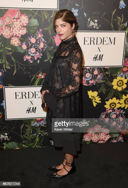 Selma Blair at HM x ERDEM Runway Show Party at The Ebell Club of Los Angeles on October 18 2017 in Los Angeles California