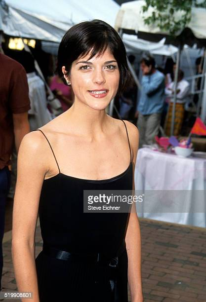 Selma Blair at premiere of 'Legally Blonde,' Southampton, New York, July 7, 2001.