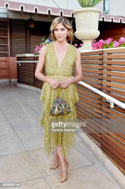 Selma Blair attends Aerin Lauder, Crystal Lourd and Jennifer Meyer Host a Dinner in Celebration of the AERIN SS18 Collection by Williams Sonoma at...