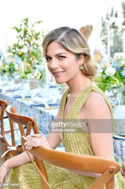 Selma Blair attends Aerin Lauder Crystal Lourd and Jennifer Meyer Host a Dinner in Celebration of the AERIN SS18 Collection by Williams Sonoma at...