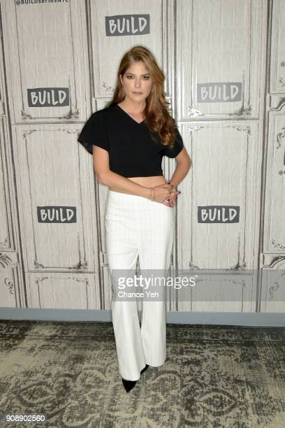 Selma Blair attends Build series to discuss Mom and Dad at Build Studio on January 22 2018 in New York City