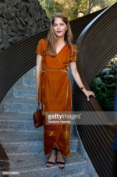 "Selma Blair attends Ray Booth ""Evocative Interiors"" Book Signing on May 8, 2018 in Los Angeles, California."
