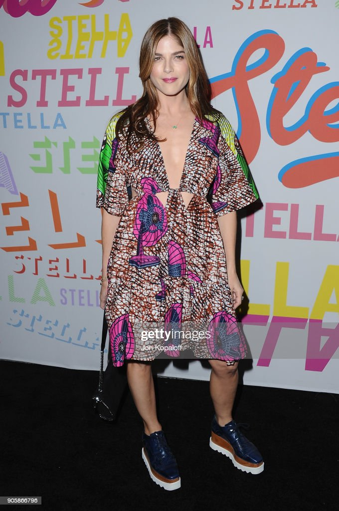 Selma Blair attends Stella McCartney's Autumn 2018 Collection Launch on January 16, 2018 in Los Angeles, California.