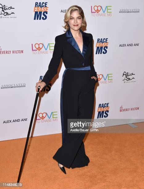 Selma Blair attends the 26th Annual Race to Erase MS Gala at The Beverly Hilton Hotel on May 10, 2019 in Beverly Hills, California.