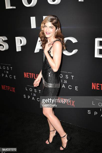 Selma Blair attends the 'Lost In Space' Season 1 Premiere at ArcLight Cinerama Dome on April 9 2018 in Hollywood California