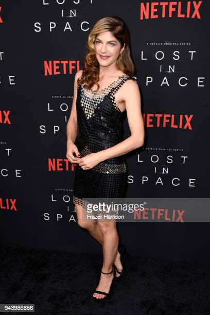 Selma Blair attends the premiere of Netflix's 'Lost In Space' Season 1 at The Cinerama Dome on April 9 2018 in Los Angeles California