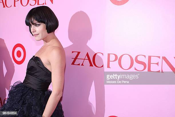 Selma Blair attends the Zac Posen for Target Collection launch party at the New Yorker Hotel on April 15 2010 in New York City