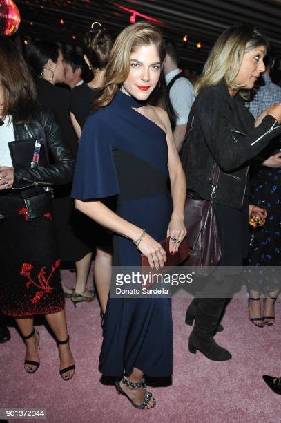 Selma Blair attends W Magazine's Celebration of its 'Best Performances' Portfolio and the Golden Globes with Audi Dior and Dom Perignon at Chateau...